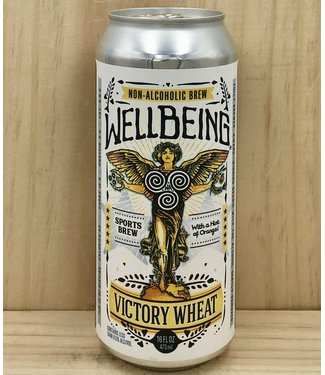 Wellbeing Victory Wheat NA 16oz can 4pk