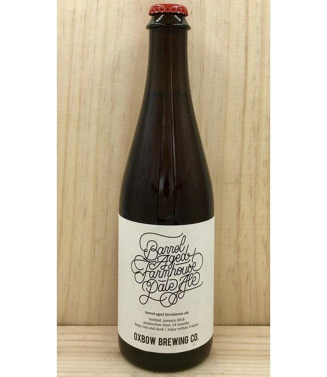 Oxbow Barrel Aged Farmhouse Pale Ale 16.9oz bottle