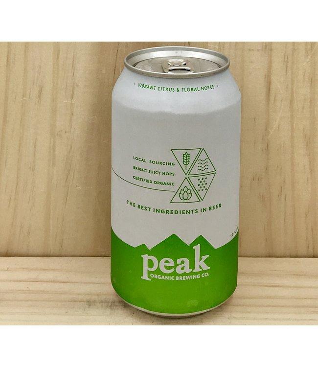 Peak Organic IPA 12oz can 6pk