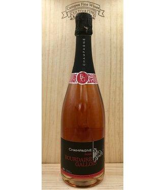 Bourdaire Gallois Champagne Brut Rose