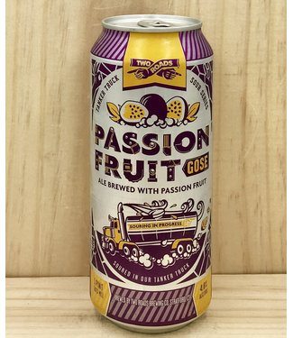 Two Roads Passion fruit Gose 16oz can 4pk