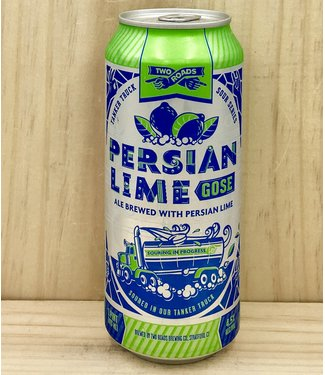 Two Roads Persian Lime Gose 16oz can 4pk