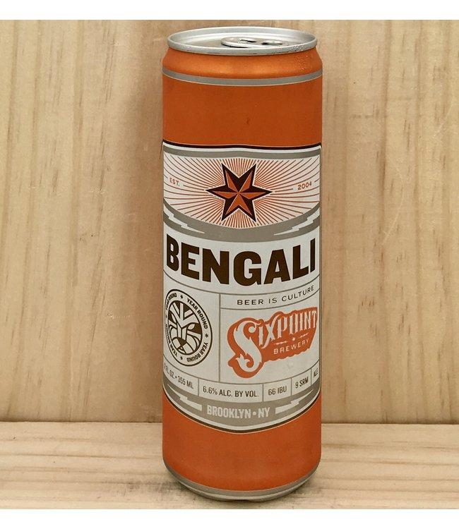 Sixpoint Bengali IPA 12oz can 6pk