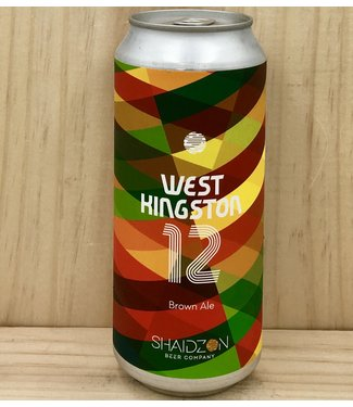 Shaidzon West Kingston 12 Brown 16oz can 4pk