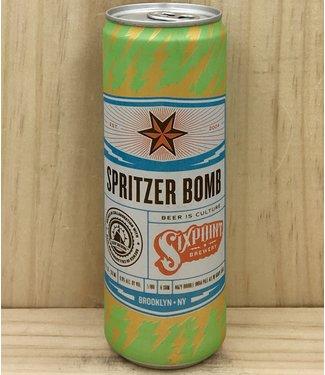 Sixpoint Spritzer Bomb Hazy DIPA 12oz can 6pk