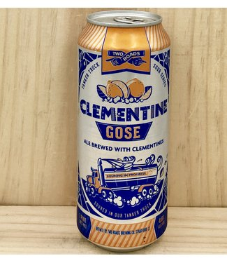 Two Roads Clementine Gose 16oz can 4pk