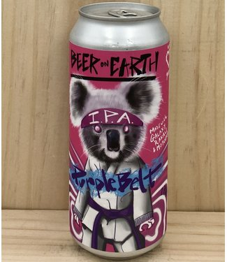 Beer on Earth Purple Belt IPA 16oz can 4pk