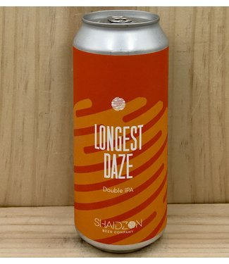 Shaidzon Longest Daze DIPA 16oz can 4pk