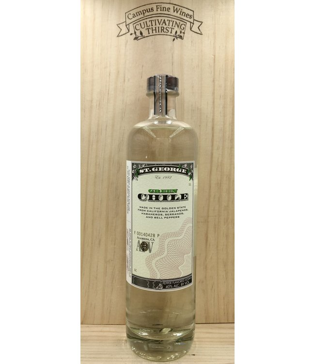 St George Green Chile Vodka 750ml