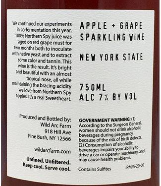 Wild Arc Sweetheart Apple & Grape Sparkling Wine 2020