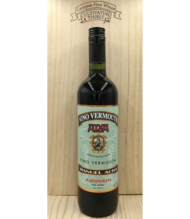 Manuel Acha Atxa Red Vermouth