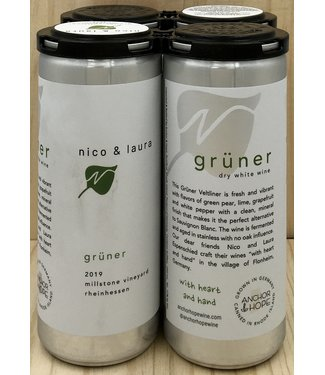 Anchor & Hope 'Nico & Laura' Gruner Veltliner 250ml can 4pk