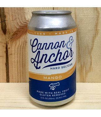 Cannon & Anchor Mango Hard Seltzer 12oz can 6pk