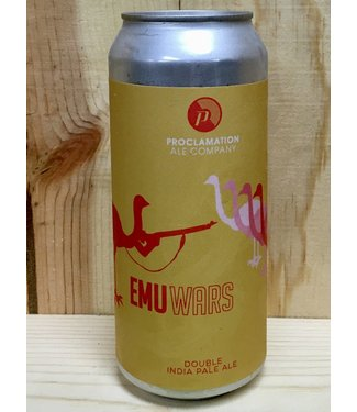 Proclamation Emu Wars DIPA 16oz can 4pk
