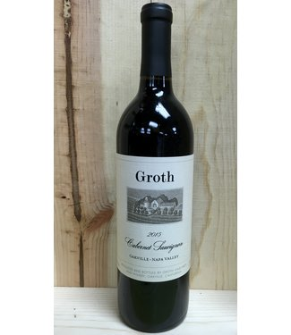 Groth Oakville Cabernet Sauvignon 2015 750mL