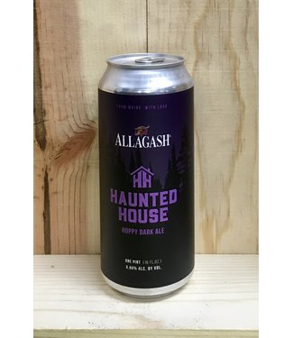 Allagash Haunted House hoppy dark ale 16oz can 4pk