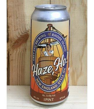 Grey Sail Haze, Ho! NEIPA 16oz can 4pk