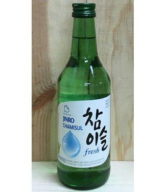 Jinro Chamisul Fresh 375ml bottle