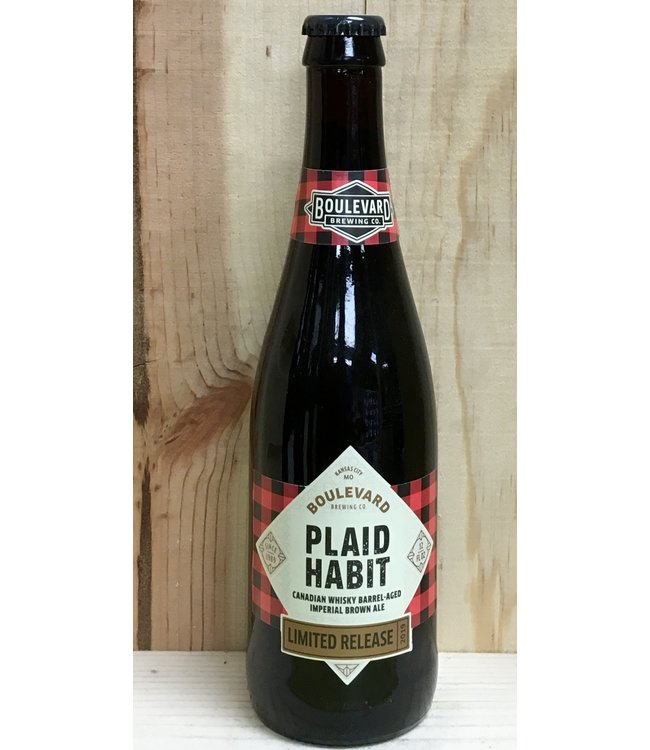 Boulevard Plaid Habit barrel-aged imperial brown 12oz bottle 4pk