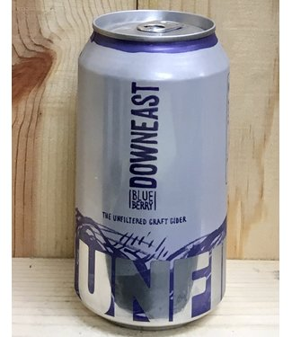 Downeast Blueberry cider 12oz can 4pk