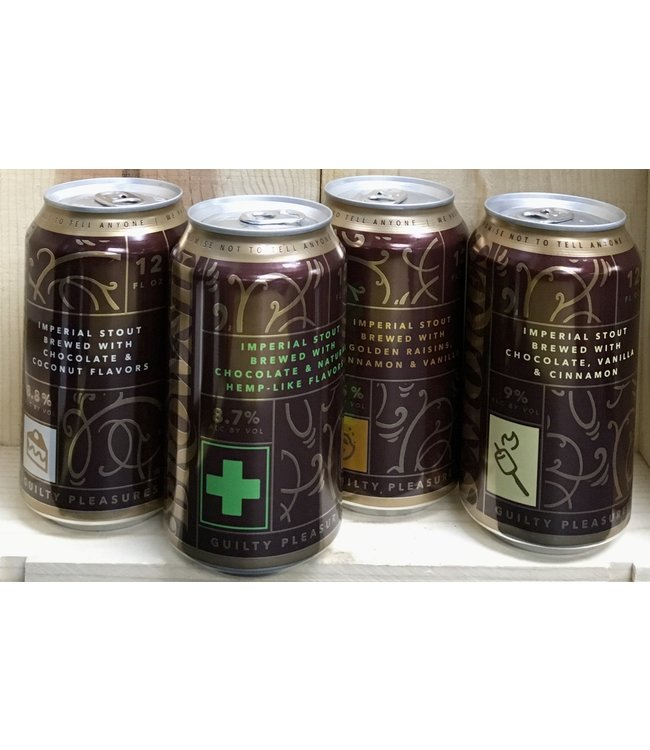 Wicked Weed Guilty Pleasures variety 12oz can 4pk