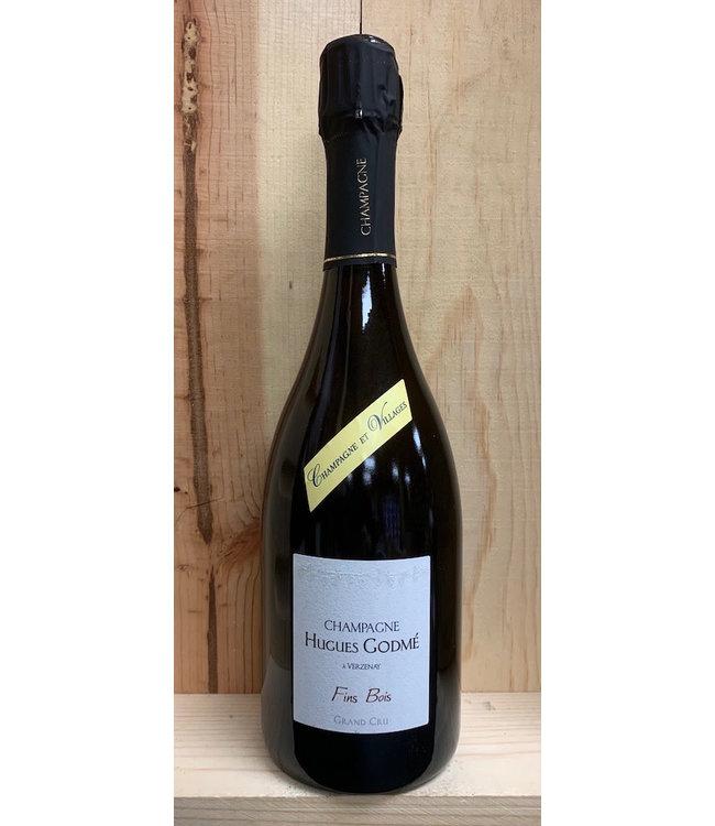 Champagne Hughes Godme Fins Bois Extra Brut Grand Cru