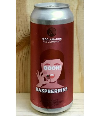 Proclamation OOOH! Raspberries sour 16oz can 4pk