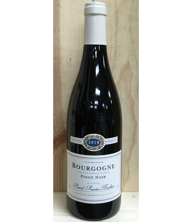 Prunier Bonheur Bourgogne Rouge 2018
