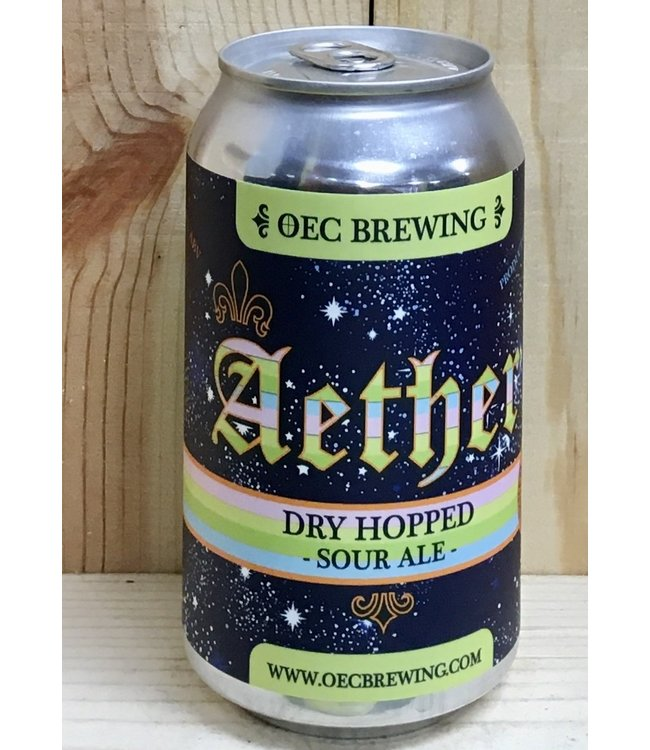 OEC Aether dry-hopped sour ale 12oz can 4pk