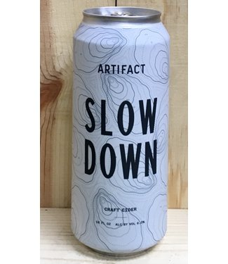 Artifact Slow Down dry cider 16oz can 4pk
