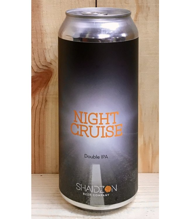 Shaidzon Night Cruise DIPA 16oz can 4pk