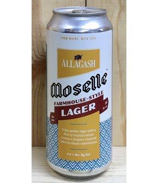Allagash Moselle farmhouse-style lager 16oz can 4pk