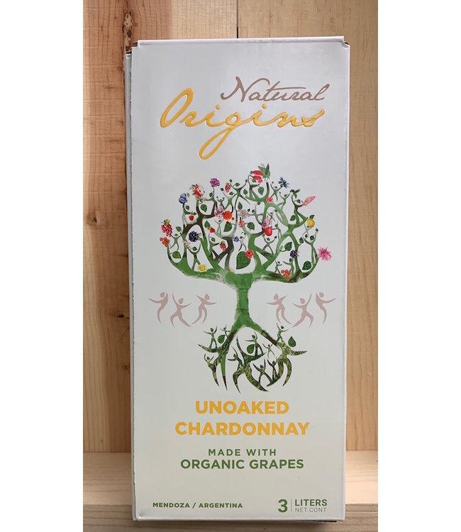 Natural Origins Organic Unoaked Chardonnay 3L
