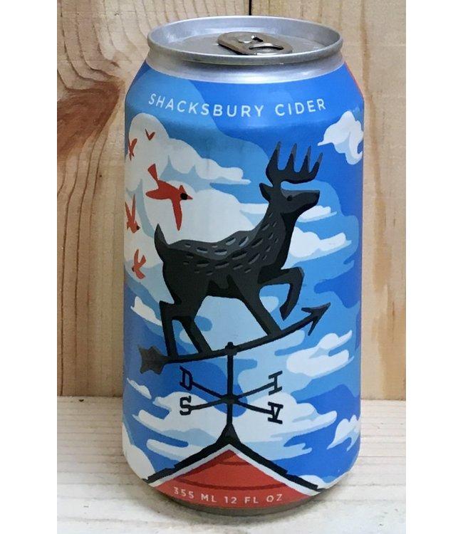 Shacksbury Deer Snacks 12oz can 4pk