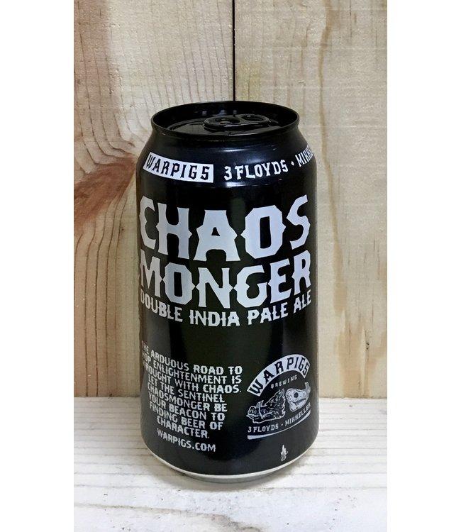 Warpigs Chaos Monger DIPA 12oz can 6pk