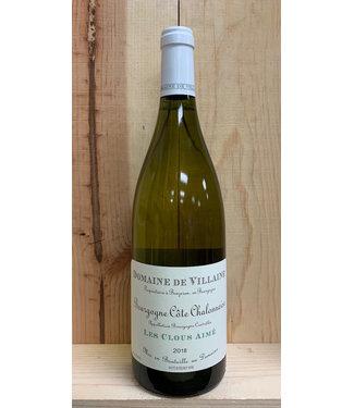 De Villaine Bourgogne Blanc Les Clous Aime 2018