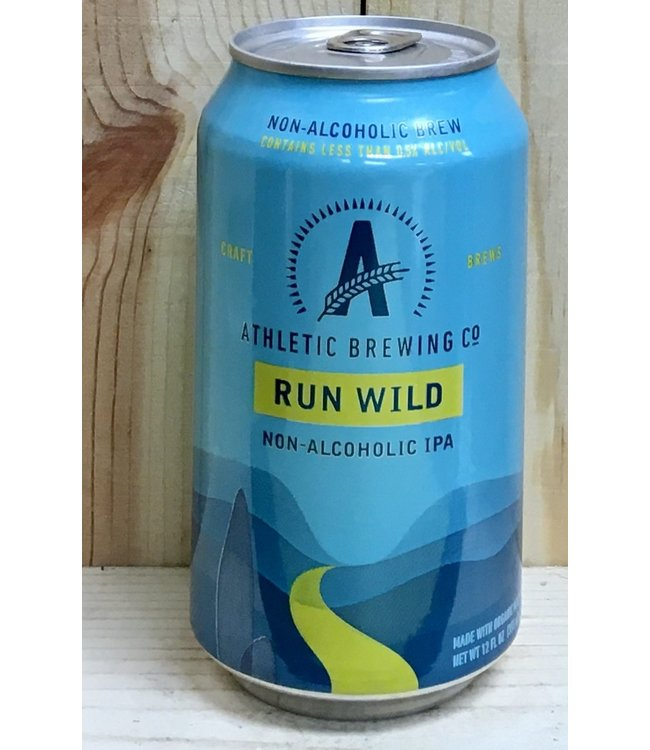 Athletic Run Wild non-alchoholic IPA 12oz can 6pk