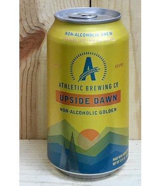 Athletic Brewing Upside Dawn non-alcholic golden ale 12oz can 6pk