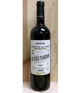 Bodegas Olivares, Altos De La Hoya Jumilla Monastrell Ungrafted Old Vines 2018