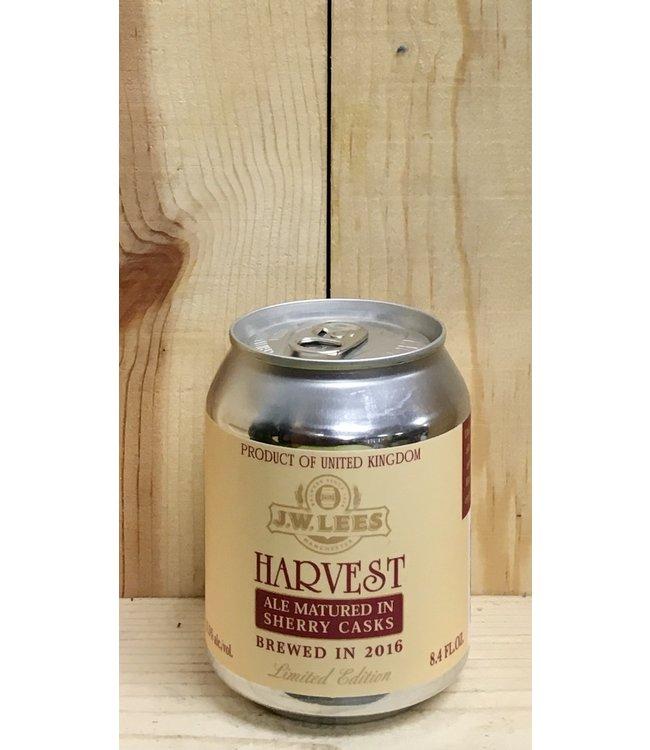 J.W. Lees Harvest Ale aged in Lagavulin casks 8.4oz can 4pk