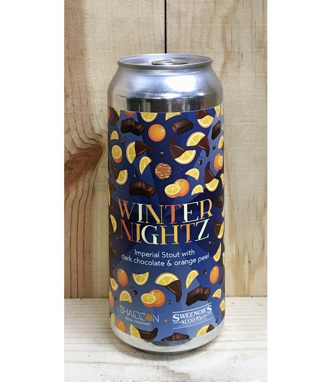 Shaidzon Winter Nightz stout w/chocolate & orange 16oz can 4pk