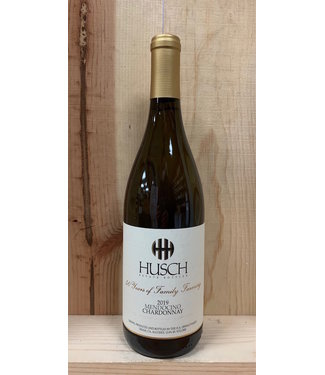 Husch Vineyards Mendocino Estate Chardonnay 2019