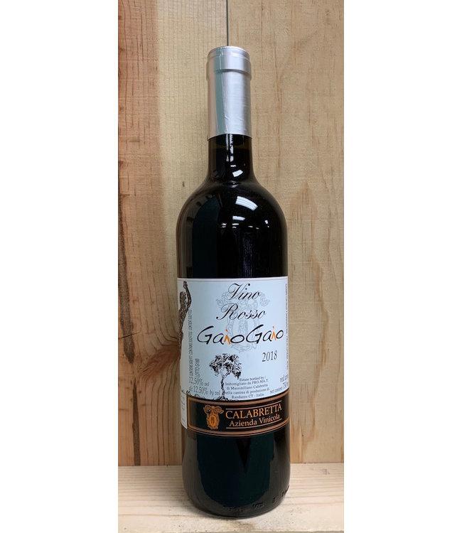 Calabretta Giao Gaio Vino Rosso 750ml