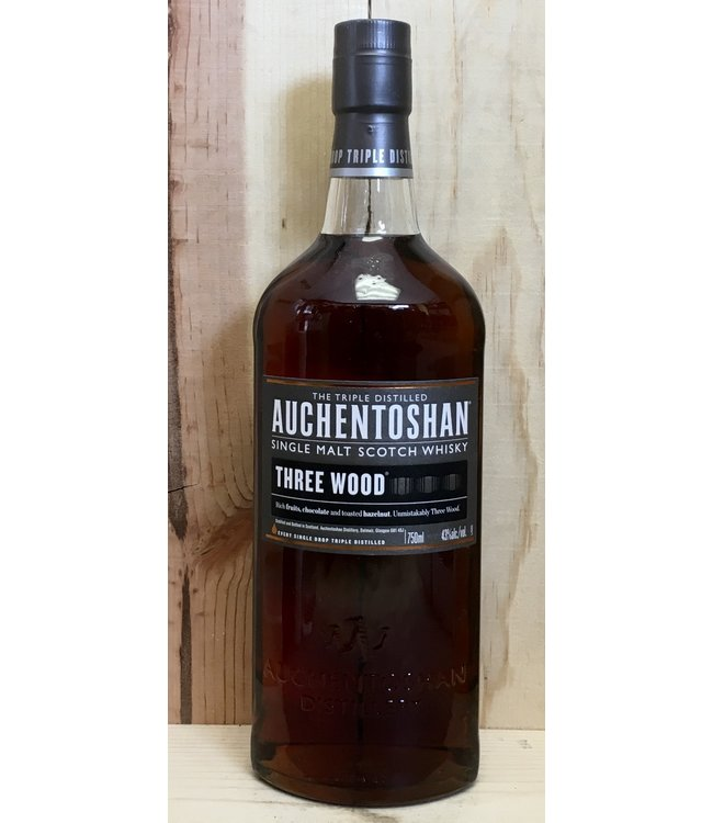 Auchentoshan Three Wood SIngle Malt 750ml