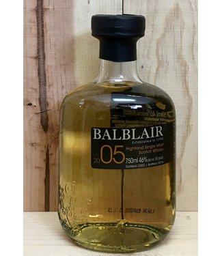 Balblair 2005 Single Malt
