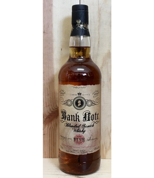 Bank Note 5yr Blended Scotch 750ml