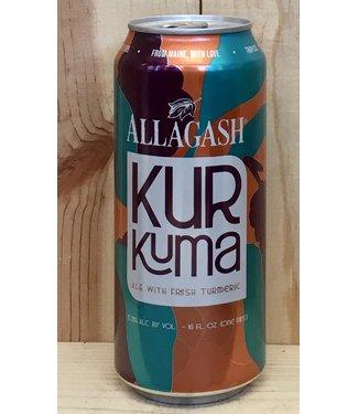 Allagash Kurkuma ale w/ tumeric 16oz can 4pk