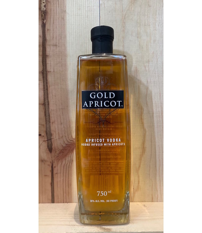 Gold Apricot vodka 750