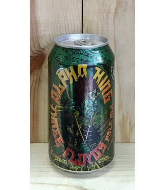 3 Floyds Alpha King pale ale 12oz can 6pk