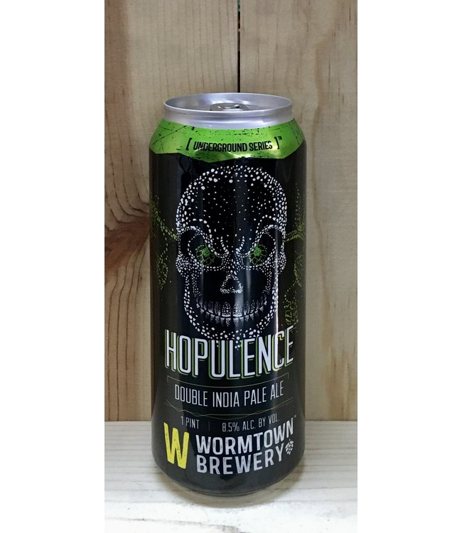 Wormtown Hopulence IPA 16oz can 4pk